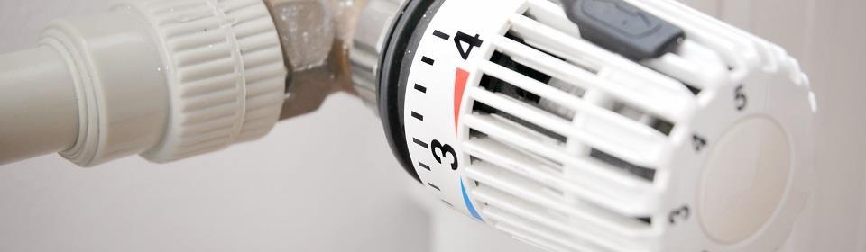 Draaiknop centrale verwarming
